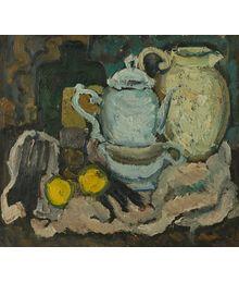 Натюрморт с лимонами, Дмитрий Хамин