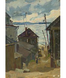 Вечер на берегу. Дмитрий Хамин