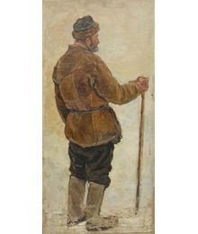 "Sketch to the ""Arrival of the Awarded"" Painting. Tatiana Konovalova-Kovrigina"