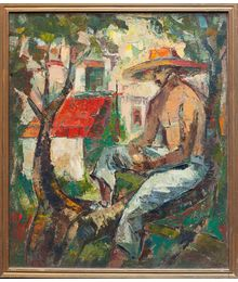A Man on the Tree. Vadim Sokolov