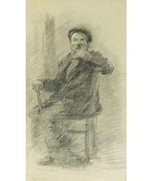 Sitting on the Chair. Viktor Konovalov