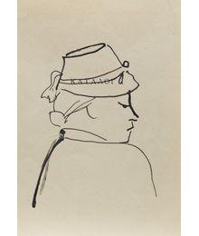 A Woman. Sketch. Evgeny Rastorguev