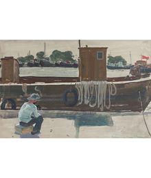 Sailmen in Azov. Temruk.Stekolschikov Vyacheslav