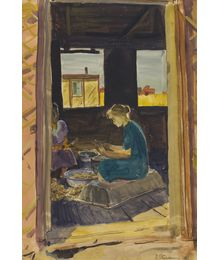 Virgin Lands. The Kitchen. Vyacheslav Stekolschikov