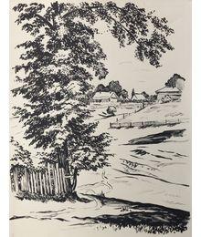 Tarusa Landscape. Sveshnikov A. V.