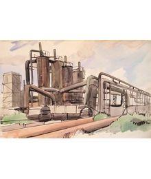 Leonid Usaitis. Industrial Landscape