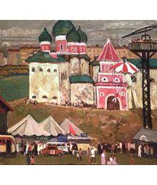 Fair in Izmailovo. Dmitry Khamin