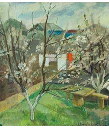 Spring in the Garden. Tatiana Konovalova-Kovrigina