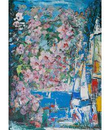 Flowering at Sea. Vadim Sokolov