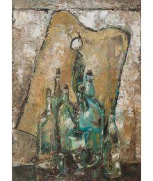 Натюрморт с бутылками. Вадим Соколов