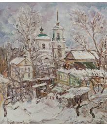 Natalia Sokolova. Kashin. Winter