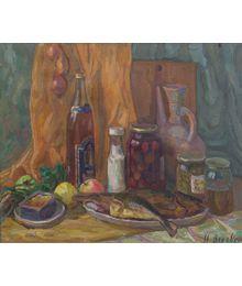 Still Life with Fish. Nadezhda Vorobieva