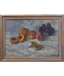Peaches. Nadezhda Vorobieva