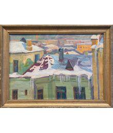 Spring on the Roofs. Nadezhda Vorobieva