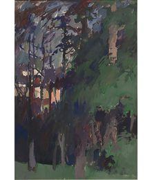 Night and trees. Evsey Reshin