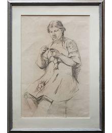 Sewing. Tatiana Konovalova-Kovrigina