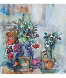 Flowers in Pots. Inna Mednikova