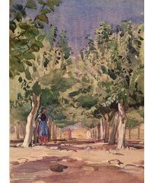 In the Garden. Vassily Minyaev