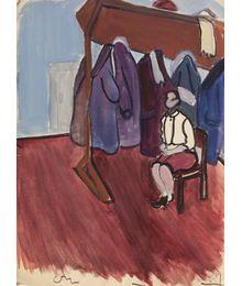 Cloakroom Woman. Natalia Orlova