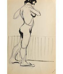 A Model. Sketch. Natalia Orlova