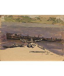 On the shore. Berta Taller