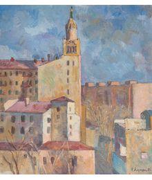 City landscape. Ruben Apresyan