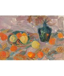 Apples and apricots. Inna Mednikova