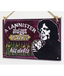 """""""Lannisters always pay their debts"""", Sign No. 111"""