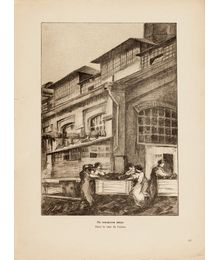 """In the factory yard"". Sheet No. 61"