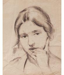 Portrait of a Woman. Aleksey Kolosov