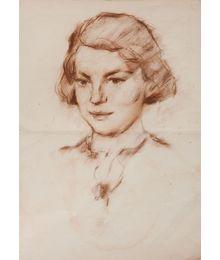 Portrait of a Girl. Aleksey Kolosov