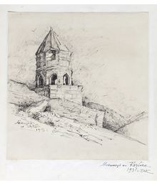 Monastery on Kazbek. Aleksey Kolosov
