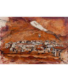 Village in the Mountains. Aleksey Kolosov