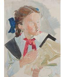 Pioneer Girl. Viktor Konovalov