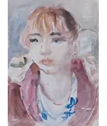Portrait of a Girl. Inna Mednikova