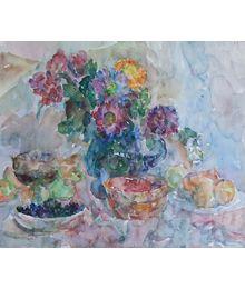 Flowers and Fruits. Inna Mednikova