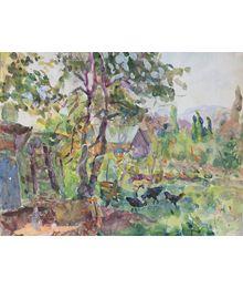 В деревне. Инна Медникова