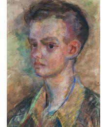 Portrait of a Young Man. Inna Mednikova
