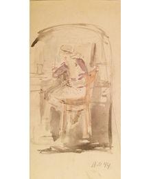 Sketch of illustration. Vassily Minyaev