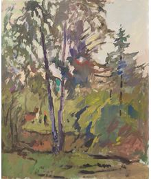 In the Forest. Evsey Reshin