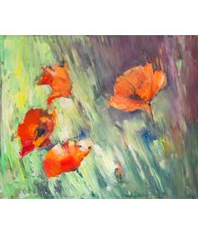 Summer. Poppies. Ilya Danshin