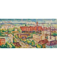 Pavlovsky Posad. Textile Factory. Oleg Filippov
