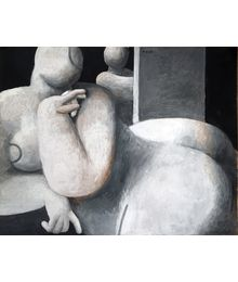 The Model and the Artist. Robert Kondakhsazov