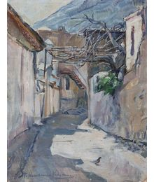 Little Street. Tatiana Konovalova-Kovrigina