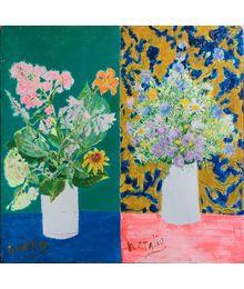 Garden and Field Flowers. Natalia Konovalova