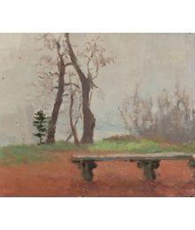 Study with a bench. Inna Mednikova