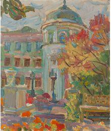 Autumn garden. Inna Mednikova