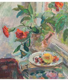 Cloves and cherries. Inna Mednikova