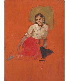 Etude of the Girl. Vassily Minyaev