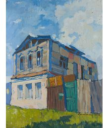 House on the outskirts of the outskirts. Elena Novozhenina